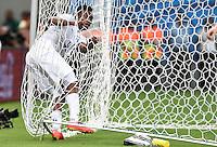 FUSSBALL WM 2014  VORRUNDE    Gruppe D     England - Italien                         14.06.2014 Daniel Sturridge (England) bringt sich, aber nicht den Ball ins Netz