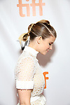 Kate Mara attend the 'Film Stars Don't Die in Liverpool' premiere during the 2017 Toronto International Film Festival at Roy Thomson Hall on September 12, 2017 in Toronto, Canada.
