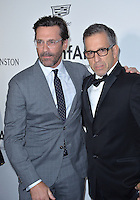 LOS ANGELES, CA. October 27, 2016: Jon Hamm &amp; Kenneth Cole at the 2016 amfAR Inspiration Gala at Milk Studios, Los Angeles.<br /> Picture: Paul Smith/Featureflash/SilverHub 0208 004 5359/ 07711 972644 Editors@silverhubmedia.com