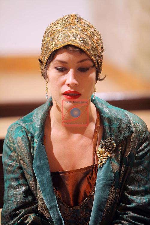 Visita Rodatge de 'Vida Privada'.<br /> Aida Folch.