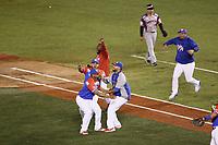 Criollos de Caguas de Puerto Rico se corona bi campeón de  Serie del Caribe, al ganar 9 carreras por 4 a  Águilas Cibaeñas  de Republica Dominicana en estadio Panamericano en Guadalajara, México, jueves 8 feb 2018.  (Foto: /Luis Gutierrez)