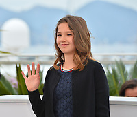 "CANNES, FRANCE. May 18, 2019: Lise Leplat Prudhomme at the photocall for the ""Jeanne"" at the 72nd Festival de Cannes.<br /> Picture: Paul Smith / Featureflash"