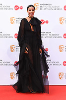 Rochelle Humes<br /> arriving for the BAFTA TV Awards 2019 at the Royal Festival Hall, London<br /> <br /> ©Ash Knotek  D3501  12/05/2019