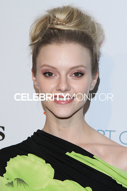 "HOLLYWOOD, LOS ANGELES, CA, USA - FEBRUARY 26: Elle Evans at The Art Of Elysium's 7th Annual ""Pieces Of Heaven"" Charity Art Auction held at Siren Studios on February 26, 2014 in Hollywood, Los Angeles, California, United States. (Photo by David Acosta/Celebrity Monitor)"