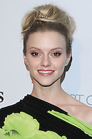 """HOLLYWOOD, LOS ANGELES, CA, USA - FEBRUARY 26: Elle Evans at The Art Of Elysium's 7th Annual """"Pieces Of Heaven"""" Charity Art Auction held at Siren Studios on February 26, 2014 in Hollywood, Los Angeles, California, United States. (Photo by David Acosta/Celebrity Monitor)"""