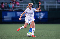 Allston, MA - Sunday, May 22, 2016: FC Kansas City defender Katie Bowen (21) during a regular season National Women's Soccer League (NWSL) match at Jordan Field.