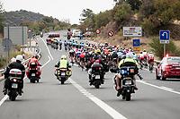 peloton on their way to Toledo<br /> <br /> Stage 19: Ávila to Toledo (165km)<br /> La Vuelta 2019<br /> <br /> ©kramon