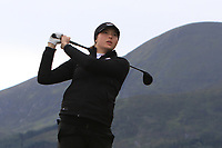 Georgina Blackman (Brocket Hall) on the 2nd tee during Round 2 of the Women's Amateur Championship at Royal County Down Golf Club in Newcastle Co. Down on Wednesday 12th June 2019.<br /> Picture:  Thos Caffrey / www.golffile.ie