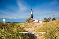 64795-01004 Big Sable Point Lighthouse on Lake Michigan, Mason County, Ludington, MI