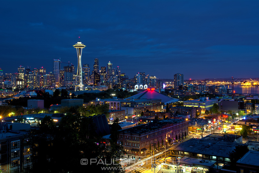 Space Needle, Seattle, Washington, Pacific Science Center, Downtown