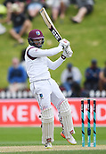 3rd December 2017, Wellington, New Zealand;  Shai Hope batting.<br /> Day 3. New Zealand Black Caps v West Indies. 1st test match of the ANZ International Cricket Season 2017/18 season. Basin Reserve, Wellington,