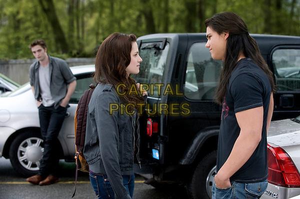 Robert Pattinson, Kristen Stewart, Taylor Lautner<br /> in The Twilight Saga: Breaking Dawn - Part 2 (2012) <br /> *Filmstill - Editorial Use Only*<br /> FSN-D<br /> Image supplied by FilmStills.net