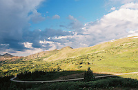 Photo of Cottonwood Pass in Southern Colorado