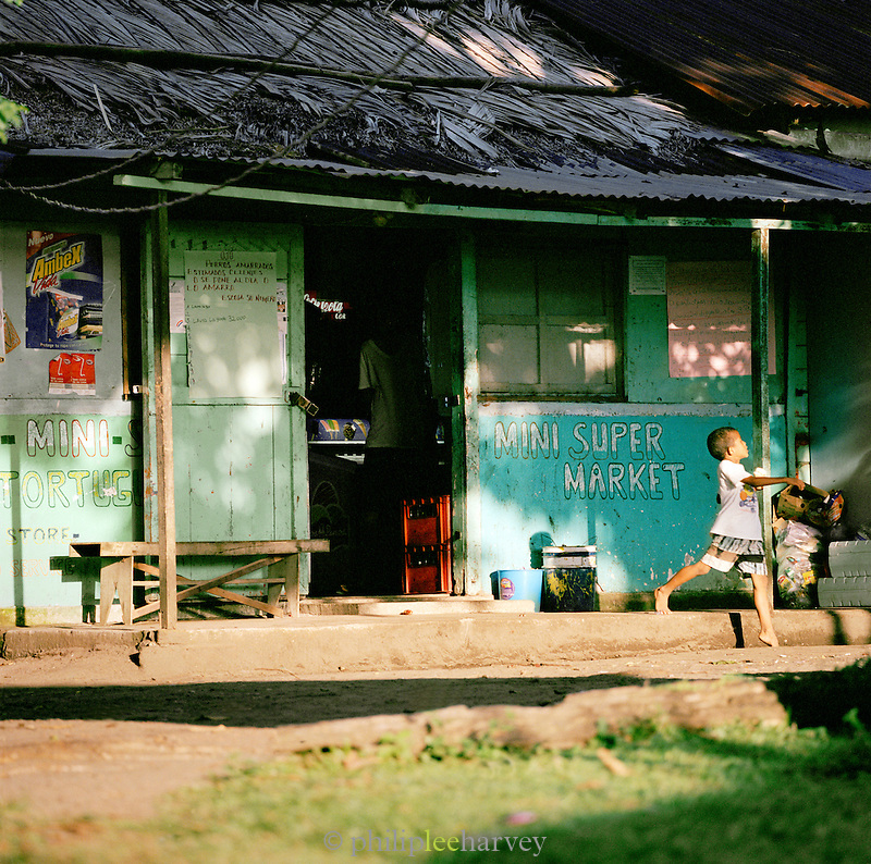 Local store at the Tortuguero National Park, East Coast, Tortuguera, Limon, Costa Rica
