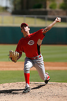 Mace Thurman - Cincinnati Reds 2009 Instructional League. .Photo by:  Bill Mitchell/Four Seam Images..