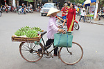 Woman Selling Bananas