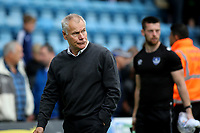 Gillingham Manager, Peter Taylor heads to the dressing room at the final whistle during Gillingham vs Portsmouth, Sky Bet EFL League 1 Football at the MEMS Priestfield Stadium on 8th October 2017
