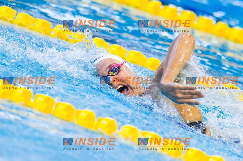 ROUWENDAAL Sharon NED<br /> Women's 800m freestyle heats<br /> Netanya, Israel, Wingate Institute<br /> LEN European Short Course Swimming Championships  Dec. 2 - 6, 2015 Day01 Dec. 2nd<br /> Nuoto Campionati Europei di nuoto in vasca corta<br /> Photo Giorgio Perottino/Deepbluemedia/Insidefoto