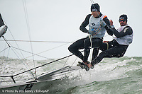 Clearwater Worlds: 49er, 49erFX and Nacra 17