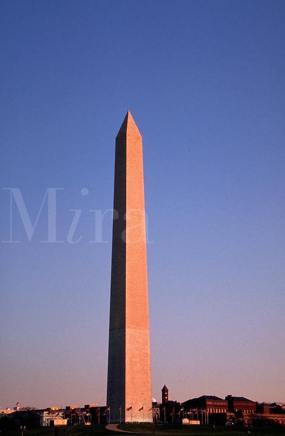 The Washington Monument. Washington, DC.