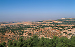 Jordan, View of the Gilead from Ajlun&amp;#xA;<br />