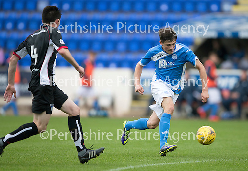St Johnstone v Dunfermline…23.08.16   SPFL Development League<br />