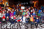 Loreto NS pupils at the Christmas in Killarney parade on Saturday evening