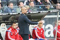 Trainer Pep Guardiola (Bayern)  - Eintracht Frankfurt vs. FC Bayern München, Commerzbank Arena