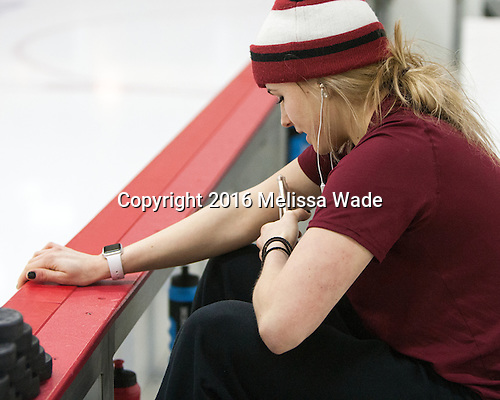 - The visiting Boston College Eagles defeated the Harvard University Crimson 2-0 on Tuesday, January 19, 2016, at Bright-Landry Hockey Center in Boston, Massachusetts.