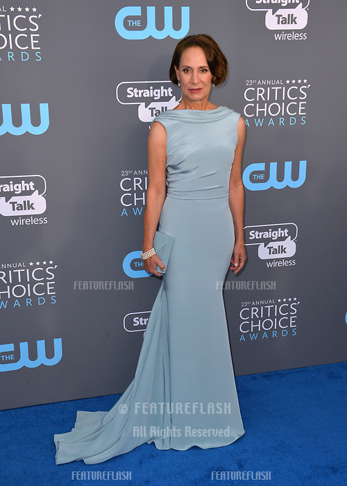 Laurie Metcalf at the 23rd Annual Critics' Choice Awards at Barker Hangar, Santa Monica, USA 11 Jan. 2018<br /> Picture: Paul Smith/Featureflash/SilverHub 0208 004 5359 sales@silverhubmedia.com