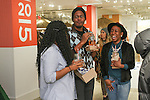 Guests attend the Old Navy Summer 2015 collection preview at the Old Navy Showroom in New York City.