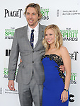 Dax Shepard and Kristen Bell<br />  attends The 2014 Film Independent Spirit Awards held at Santa Monica Beach in Santa Monica, California on March 01,2014                                                                               © 2014 Hollywood Press Agency