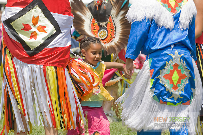 Dancing in full Regalia, at the Nanticoke Lenni-Lenapi Indian Pow Wow