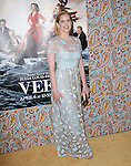 Anna Chlumsky<br />  attends The Los Angeles Premiere for the third season of HBO's series VEEP held at Paramount Studios in Hollywood, California on March 24,2014                                                                               © 2014 Hollywood Press Agency