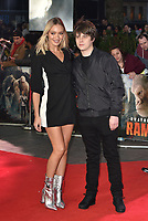 Jake Bugg and Roxy Horner<br /> 'Rampage'' european film premiere in Leicester Square, London, England on April 11, 2018.<br /> CAP/PL<br /> &copy;Phil Loftus/Capital Pictures