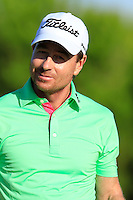 Brett Rumford (AUS) walks off the 8th tee during Thursday's Round 1 of the 2016 Portugal Masters held at the Oceanico Victoria Golf Course, Vilamoura, Algarve, Portugal. 19th October 2016.<br /> Picture: Eoin Clarke | Golffile<br /> <br /> <br /> All photos usage must carry mandatory copyright credit (&copy; Golffile | Eoin Clarke)