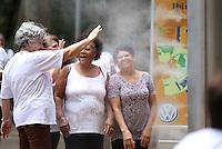 ATENCAO EDITOR IMAGEM EMBARGADA PARA VEICULOS INTERNACIONAIS -  SAO PAULO, SP, 30 NOVEMBRO 2012 - CLIMA TEMPO - PARQUE DO IBIRAPUERA - Movimentcao na tarde desta sexta-feira(30), no Parque do Ibirapuera A manhã desta sexta-feira (30) termina com sol entre muitas nuvens. Apesar da nebulosidade, o tempo segue estável durante todo o dia. As temperaturas estão em lenta elevação desde o início do dia e agora os termômetros das estações meteorológicas do CGE marcam 24°C em média. Nas próximas horas as temperaturas devem atingir os 29°C. (FOTO: AMAURI NEHN / BRAZIL PHOTO PRESS).