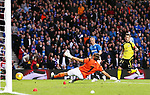 Kenny Miller scores the opening goal