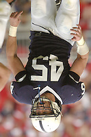 16 September 2006:  Penn State LB Sean Lee (45).&amp;#xD;The Penn State Nittany Lions defeated the Youngstown State Penguins 37-3 September 16, 2006 at Beaver Stadium in State College, PA.&amp;#xD;<br />