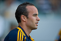 CARSON, CA - July 4, 2012: LA Galaxy forward Landon Donovan (10) prior to the LA Galaxy vs Philadelphia Union match at the Home Depot Center in Carson, California. Final score LA Galaxy 1, Philadelphia Union 2.
