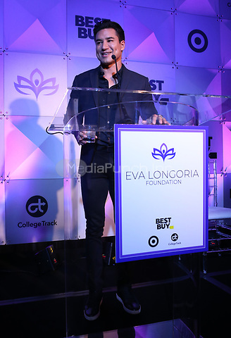 LOS ANGELES, CA - NOVEMBER 8: Mario Lopez at the Eva Longoria Foundation Dinner Gala honoring Zoe Saldaña and Gina Rodriguez at The Four Seasons Beverly Hills in Los Angeles, California on November 8, 2018. Credit: Faye Sadou/MediaPunch