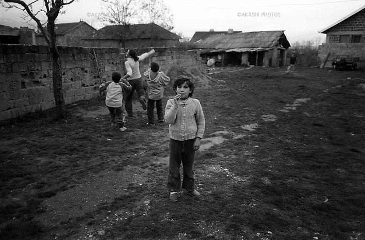 Kosovo, Serbia.March 2007.©Toru Morimoto