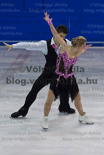 Dora Turoczi and Balazs Major performs during the figure skating national championships held in Budapest's Practice Ice Center. Budapest, Hungary. Sunday, 09. January 2011. ATTILA VOLGYI