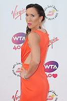 NON EXCLUSIVE PICTURE: PAUL TREADWAY / MATRIXPICTURES.CO.UK<br /> PLEASE CREDIT ALL USES<br /> <br /> WORLD RIGHTS<br /> <br /> Serbian tennis player Jelena Jankovic attending the WTA Pre Wimbledon Party, at London's Kensington Roof Gardens.<br /> <br /> 20th JUNE 2013<br /> <br /> REF: PTY 134225