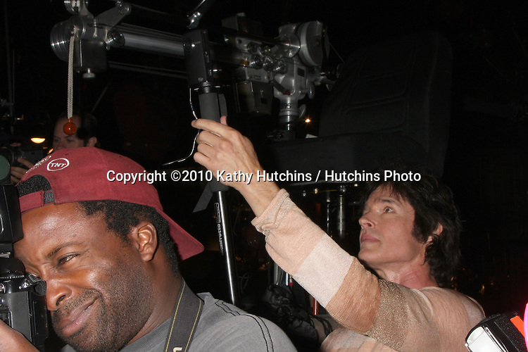 "Ronn Moss  behind photographers.Guinness World Records®  presents THE BOLD AND THE BEAUTIFUL with the certification as the  ""Most Popular Daytime TV Soap - Current..Bold & Beautiful Set, Stage 31, CBS Televsion CIty.Los Angeles, CA.May 18, 2010.©2010 Kathy Hutchins / Hutchins Photo.."