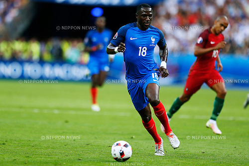 Moussa Sissoko (FRA), JULY 10, 2016 - Football / Soccer : UEFA EURO 2016 Final match between Portugal 1-0 France at Stade de France in Saint-Denis, France. (Photo by D.Nakashima/AFLO)