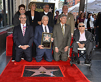 LOS ANGELES, CA. November 06, 2018: Michael Douglas, Kirk Douglas, Jane Fonda, Ron Meyer, Mitch O'Farrell, Leron Gubler &amp; Donelle Dadigan at the Hollywood Walk of Fame Star Ceremony honoring actor Michael Douglas.<br /> Pictures: Paul Smith/Featureflash