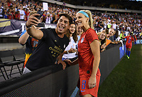 PHILADELPHIA, PA - AUGUST 29: Julie Ertz #8 poses for an photo during the USWNT 2019 Victory Tour match versus Portugal at Lincoln Financial Field on August 29, 2019 in Philadelphia, PA.