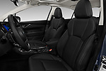 Front seat view of 2017 Subaru Impreza 2.0i-Limited-CVT-PZEV 4 Door Sedan Front Seat  car photos