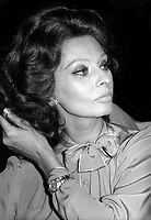 Sophia Loren 1979<br /> Photo By Adam Scull/PHOTOlink.net